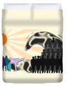 Unification Duvet Cover by Anastasiya Malakhova