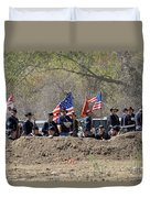 Union Artillery Embankment Duvet Cover