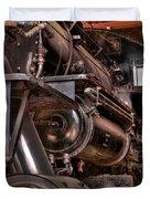 Union Pacific 4466 Duvet Cover
