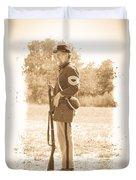 Union Soldier Duvet Cover