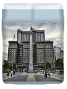 Union Square Courtyard Duvet Cover