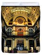 Union Station Lobby Larger Duvet Cover