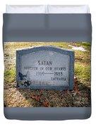 Unique Epitaph Duvet Cover