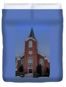 United Methodist Church Lowville Ny Duvet Cover