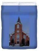 United Methodist Church Lowville Ny Duvet Cover