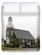 United Methodist Church New Harbor Maine Duvet Cover