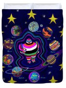 United Planets Of Eurotrazz Duvet Cover