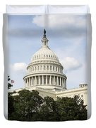 United State Capitol Dome Washington Dc Duvet Cover