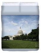 United State Capitol  Washington Dc Duvet Cover