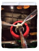 United States Airplane Museum Duvet Cover