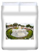 United States Capital Building At Legoland Duvet Cover