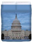 United States Capitol Building Duvet Cover by Kim Hojnacki