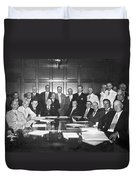 United States Industry Leaders Duvet Cover
