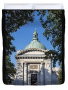 United States Naval Academy Chapel Duvet Cover