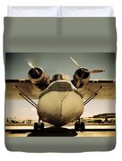 United States Navy Pby Catalina 1942 Duvet Cover