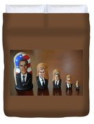 United States Presidents Duvet Cover