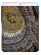 Unites States Capitol Rotunda Duvet Cover by Susan Candelario