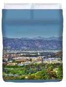 Universal City Warner Bros. Studios Clear Clear Day Duvet Cover