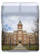 University Hall Ohio State University  Duvet Cover