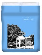 University North Carolina Chapel Hill - Light Blue Duvet Cover