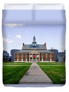 University Of Cincinnati Tangeman University Center  Duvet Cover