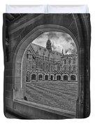 University Of Sydney-black And White V3 Duvet Cover