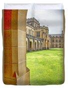 University Of Sydney Quadrangle V2 Duvet Cover