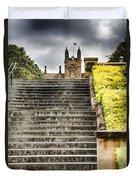 University Of Sydney Steps Duvet Cover