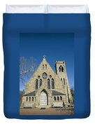 University Of Virginia Chapel Duvet Cover