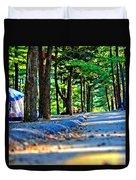 Unknown Destination Duvet Cover