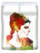 Unknown Lady Duvet Cover