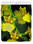 unnamed hybrid Orchid  Duvet Cover