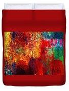 Untamed Colors  Duvet Cover by Prakash Ghai