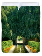 Untermyer Gardens And Park Duvet Cover