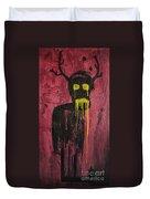 Untitled Demon Duvet Cover