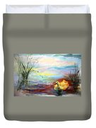 Untitled Watercolor       Duvet Cover