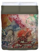 Untitled Watercolor 1998 Duvet Cover