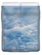 Unusual Cloud Formation Duvet Cover