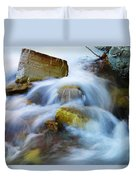 Unyeilding Rock Duvet Cover