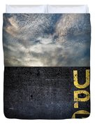 Up At Sunrise Duvet Cover