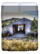 Up At The Barn Duvet Cover