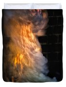 Up In Flames Duvet Cover