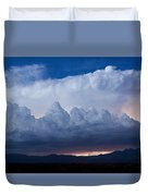 Up In The Clouds  Duvet Cover