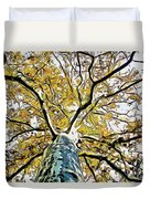 Up Into The Tree Duvet Cover