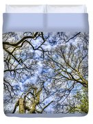 Up Into The Trees Duvet Cover