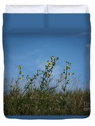 Up On The Hill Duvet Cover