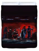 Up On The Stage Duvet Cover by Alys Caviness-Gober