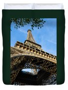 Up The Eiffel Tower 1 Duvet Cover