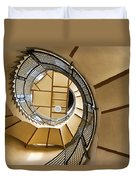 Up The Staircase Duvet Cover