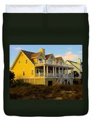 Up The Stairs At Isle Of Palms Duvet Cover